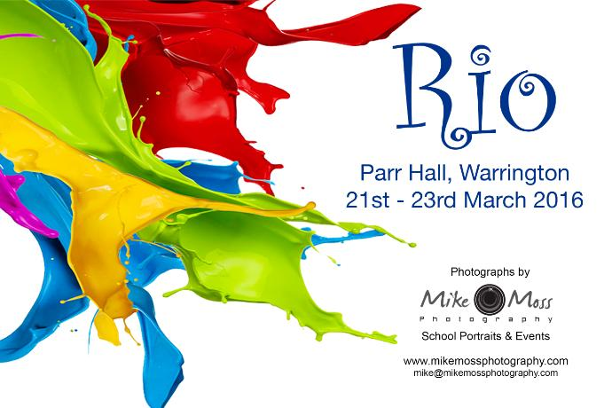 A Performance of Rio - Parr Hall 21st-23rd March 2016