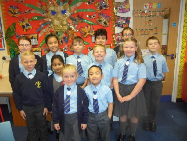 Eco school councillors 2017/ 18